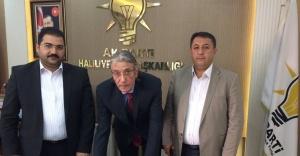 Çizmecioğlu AK Parti'ye katıldı