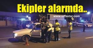 Urfa'da geniş güvenlik önlemi