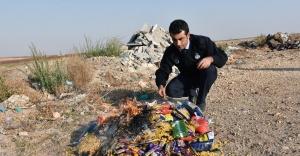 Hilvan'da, 350 Kilo Yiyecek ve İçecek İmha Edildi