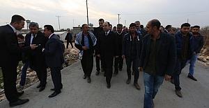 Urfa'da kırsala ömürlük yollar
