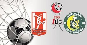 Balıkesirspor-Urfaspor maçı ile ilgili flaş gelişme...