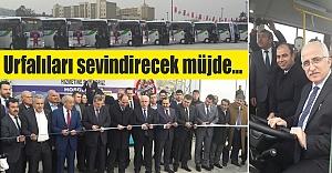Yeni otobüsler hizmete girdi