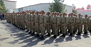 Urfa'da yemin ederek göreve başladılar..