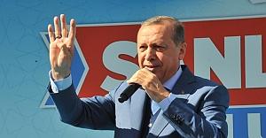 Cumhurbaşkanı Erdoğan, Urfa'da konuştu