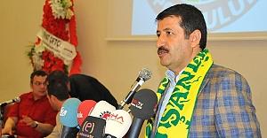 Ekinci, Urfaspor'un borcunu açıkladı