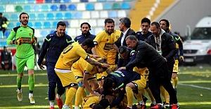 TFF 1. Lig'e çıkan ilk takım belli oldu