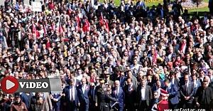 Urfa'da büyük yürüyüş...