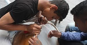 Davul üreticileri ramazan'a hazır