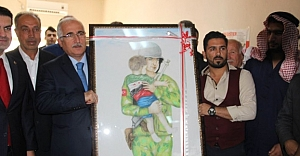 Urfa'dan anlamlı tablo çıkardılar