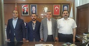 AK Partili Başkanlardan Beyazgül'e Destek