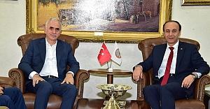AK Parti Genel Başkan Yardımcısından Vali Erin'e ziyaret
