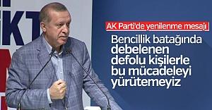 Erdoğan'dan teşkilatlara önemli mesaj...