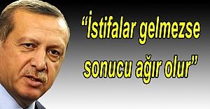 Erdoğan, Urfalı Başkan'dan istifasını istedi