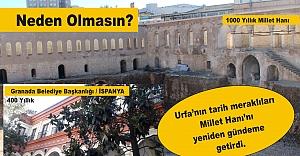 Cumhurbaşkanı Erdoğan, Millet Hanı'nı Hatırlattı