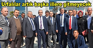 Milletvekili Kaçar'dan Urfa'ya müjdeli haber...