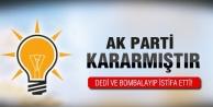 AK Parti'li o vekil böyle istifa etti!