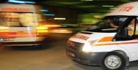 Ambulans şoförü darp edildi