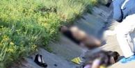 Anne ve kızının katil zanlılarını kaçıran şahıs..