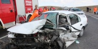 Antep yolunda korkutan kaza