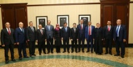 Başbakan'la görüştüler
