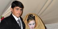 Çadırkentte evlendiler