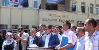 Ceylanpınar'da Başbakana Destek İçin Toplandılar