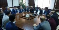 Denktaş, Misiad Şanlıurfa Heyetini Kabul Etti