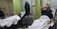 DHA Muhabirleri kaza yaptı