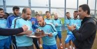 Doğum gününü kutladılar!