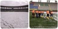 GAP Arena temizlendi
