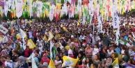 HDP Bozova'da gövde gösterisi yaptı