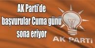 İşte AK Parti'deki başvuru sayısı