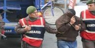 Jandarma 17 kişiyi yakaladı