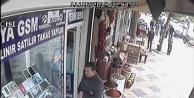 Kameraya yakalandı!