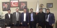 Karahan'dan Başkan Düzme'ye ziyaret