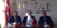 Karahan'dan MÜSİAD'a ziyaret