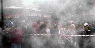 Kız öğrenciler duman altında kaldı!