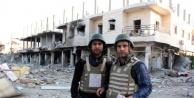 Kobani'ye girdiler!