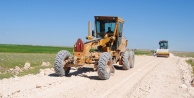 Köy yolları yapılıyor