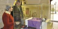 O müze, bugün ziyaretçi akınına uğradı