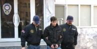 Ses bombası atan zanlı tutuklandı