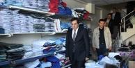 Suriyeliler için mağaza açıldı