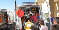 Tarım işçilerini taşıyan kamyonet devrildi