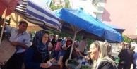 Urfalı aday Antalya'da Oy peşinde...
