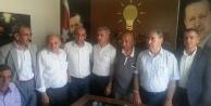 Vekillerden, Yavuz'a tebrik ziyareti