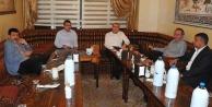 Zentürk, Başkan Güvenç'i konuk alacak