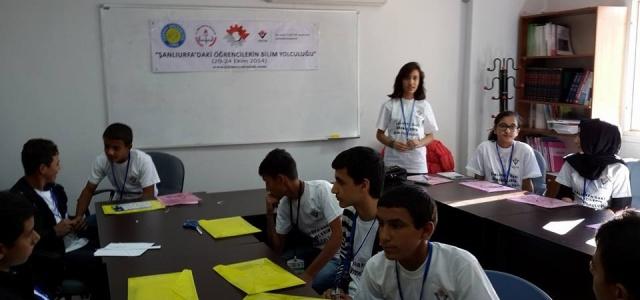 TÜBİTAK DESTEKLİ 'Şanlıurfa'daki Öğrencilerin Bilime Yolculuğu'
