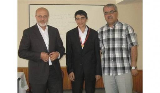 Türkiye ikincisi, altın ile ödüllendirildi