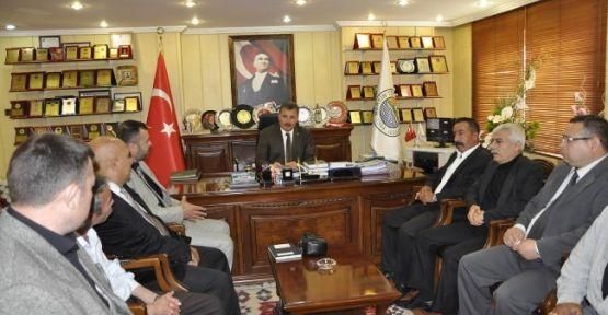 Ülkücü İşçilerden Başkan Tuna'ya Ziyaret