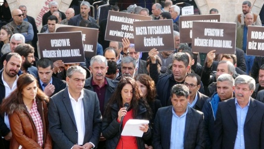Uludere'yi protesto ettiler